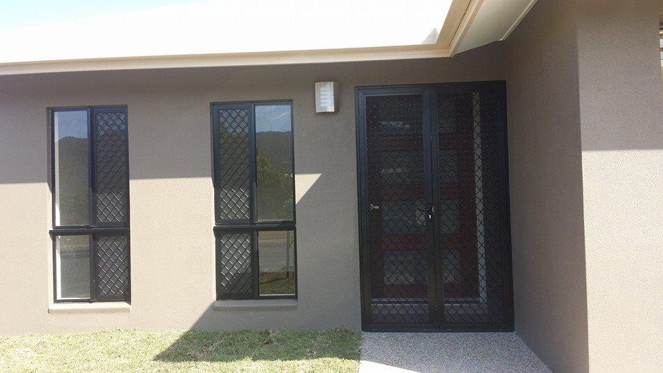 Diamond Grille Security Door and Windows - Rockingham Home Security