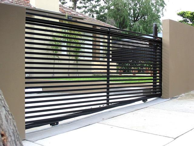 Motorised Sliding Security Gates - Rockingham Home Security
