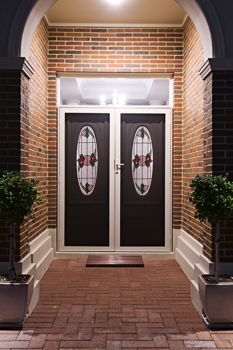 Decorative Security Doors - Rockingham Home Security