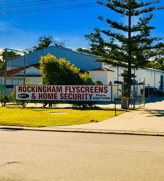 Rockingham Flyscreens and Home Security Office