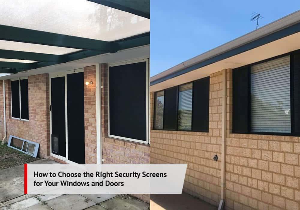 Rockingham Security Screens for Windows & Doors