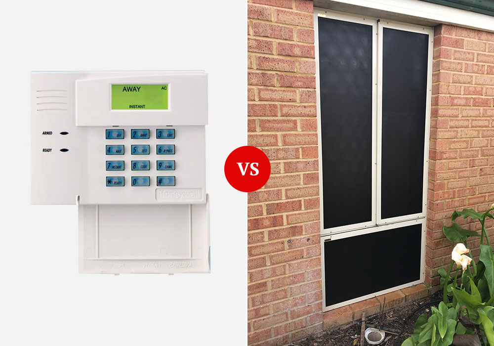 Alarm Systems vs Security Screens